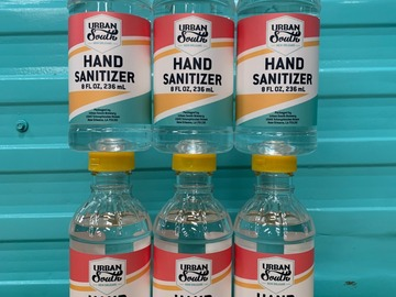 Products for Sale: 6 count 8oz Hand Sanitizer