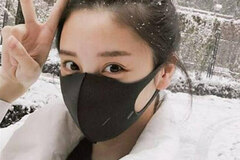Buy Now: 300 X Washable Black Half Face Reusable Masks Anti Dust Fashion M