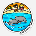 Selling with online payment: Kids Saving Oceans Sticker!