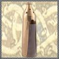 Verkaufen mit Widerrufsrecht (Gewerblicher Anbieter): Mittelalterliche Messinglaterne mit Hornfenster