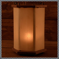Verkaufen mit Widerrufsrecht (Gewerblicher Anbieter): Medieval lantern made of wood with rawhide