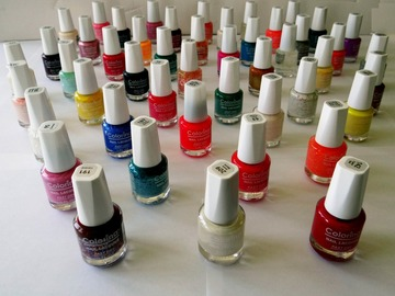 Buy Now: 192 pcs - Colorina Fast Dry Nail Polish – Great Assortment