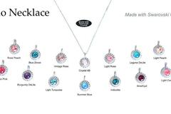 Compra Ahora: 50 pcs Assorted Halo Necklaces New + Hottest Swarovski Colors