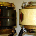 "Show Off Your Drums! (no sales): 1930s  Duplex ""Spirit of St. Louis"" snare drums"
