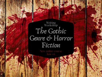 Online Payment - Group Session - Pay per Course : The Gothic and Horror Genre Writing Workshop