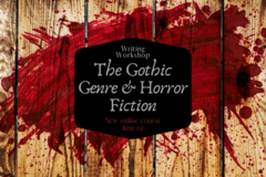 Online Payment - Group Session - Pay per Course: The Gothic and Horror Genre Writing Workshop