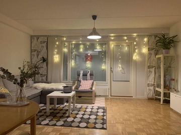 Annetaan vuokralle: One bedroom in a townhouse