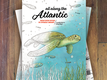 Selling with online payment: All Along the Atlantic - Coloring Book
