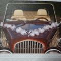 Ilmoitus: Valkoiset hääauton koristeet