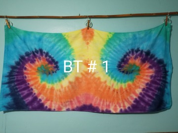 Selling with online payment: Tie-Dye Beach Towels