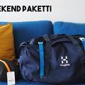 Til leie (per uke): Haglöfs Cargo 90 l & Halti Smart travel matkamakuupussi