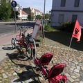 Tandem bicycle rental: Co Pilot Tandem E bike Dreirad