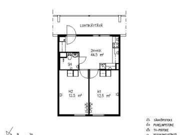 Annetaan vuokralle: Apartment in Espoo for subrent in June-August