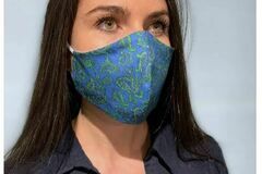 Buy Now: 100 Designer Fabric Fitted Masks