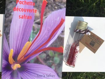 Vente avec paiement en direct: Safran BIO en filaments