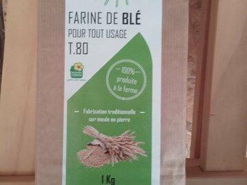 Vente avec paiement en direct: Farine de blé T80