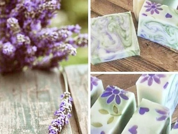 Selling with online payment: Lavender Fields Coconut Milk Soap