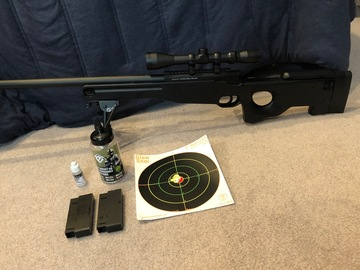 Selling: ASG AW 308 sniper rifle package