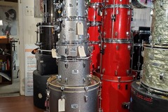 Selling with online payment: Pearl EXR 6 pc drum set gun metal sparkle exc. REDUCED!