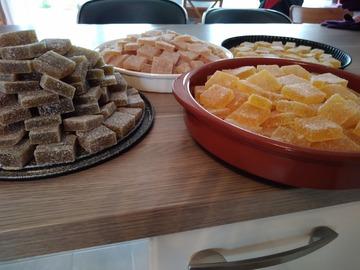 Vente avec paiement en ligne: Pâtes de fruits au safran