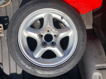 Selling without online payment: 94 Mustang GT wheels w/tires