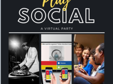 Book & Pay Online (per party package rental): Virtual Game/Activity Zoom (for adults)
