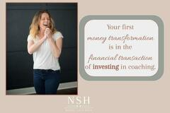 Offering online services: 1 Year Couples' Money Transformation Journey
