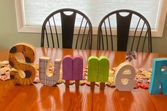 Selling with online payment: SUMMER wood letters