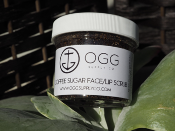 Selling with online payment: Coffee Sugar Face Scrub