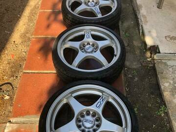 Selling: OZ Racing Crono Evolution 18x7 et45