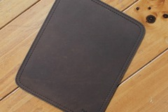 Buy Now: Cowhide Full Leather Stationary Mouse Pad Collection A743