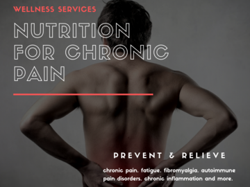 Service: Nutrition for chronic pain, fibromyalgia, fatigue and more