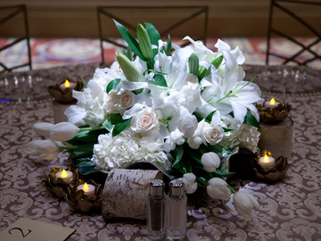 Online Payment - Group Session - Pay per Session: Make an Elegant Low Floral Centerpiece for a Round Table