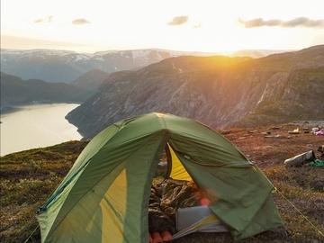Hyr ut (per day): Jack wolfskin 3h teltta