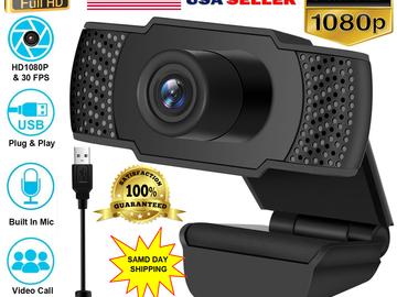 Buy Now: 10x 1080P Full HD USB Webcam Web Camera Microphone for PC Deskto
