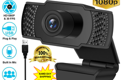 Buy Now: 10x 1080P Full HD USB Webcam Web Camera Microphone for PC Deskto