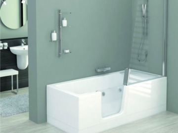Entraide: Témoignages sur baignoire à porte