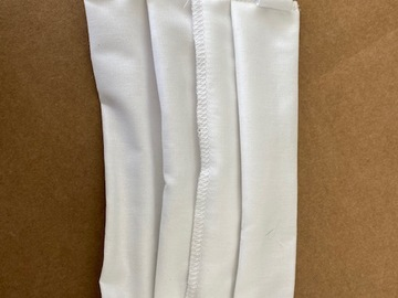 Sell your product: pleated cotton masks