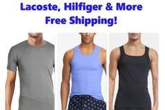 Compra Ahora: Men's T-Shirts & Undershirts, NWOT, RL, CK, Hilfiger & More
