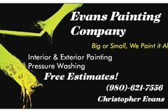 Offer work without online payment: Evans painting company