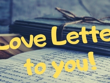 Selling: LOVE LETTER  to you from your distant silent partner - NEAL