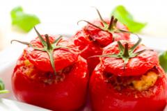 Partage: Tomates grecques farcies