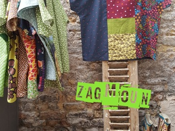 Sale retail: tunique blouse originale création unique