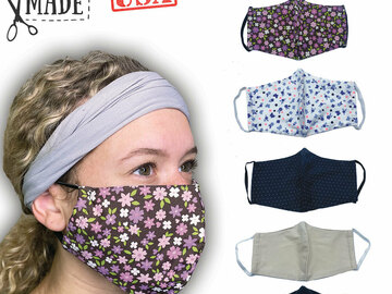 Sell your product: Woman's Face Mask Multi Colors
