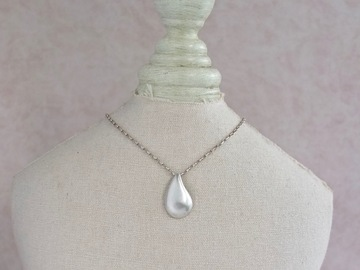 Selling with online payment: Raindrop Sterling Silver Pendant