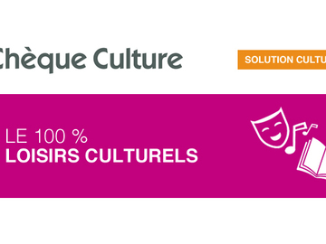 Vente: Chèques Culture (25€)