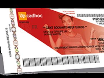 Vente: Chèques cadeaux Cadhoc (169€)