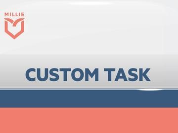 Service: Custom Job