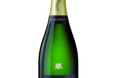 Vente avec paiement en ligne: Champagne Initiale noir & blanc