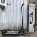 Myydään (yksityishenkilöt): Denver SCO-80110 sähköpotkulauta + laturi